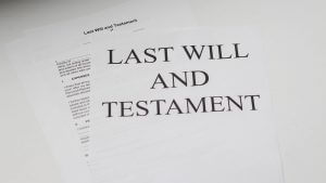 Settle the Will. family law Steve Morris