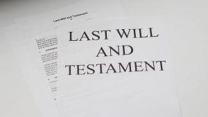 Settle the Will. family law Steve Morris
